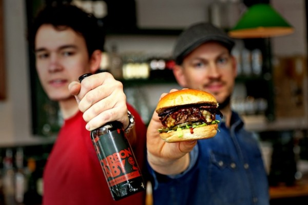 Honest Burgers Brew Dog Brew Burger