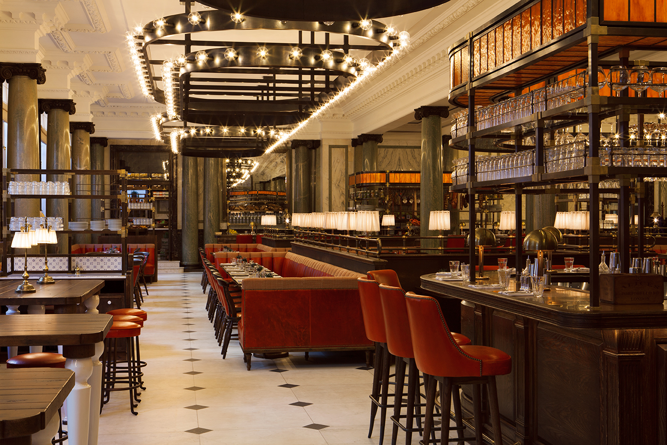 Merveilleux Holborn Dining Room Open For Previews 18 February At Rosewood London