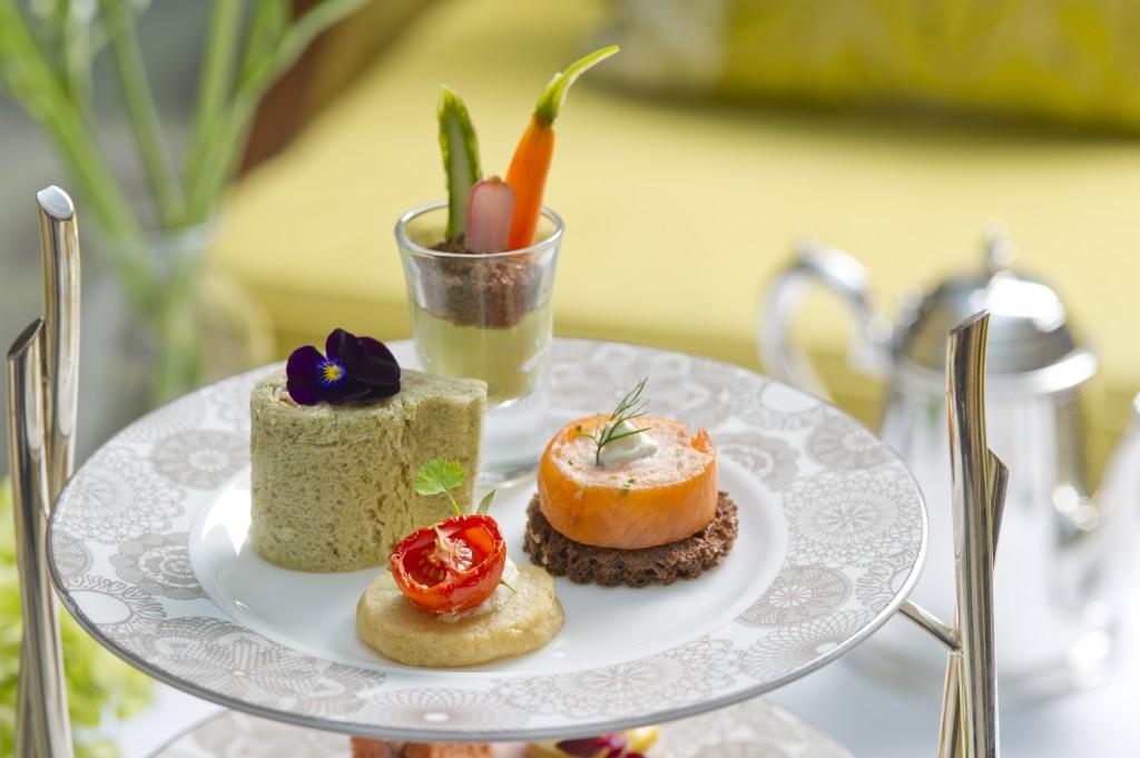 Edible Garden Afternoon Tea Inter Continental Hotel Westminster