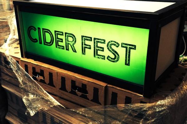 Cider Fest at CRATE
