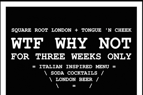 Tongue n Cheek WTF Why Not