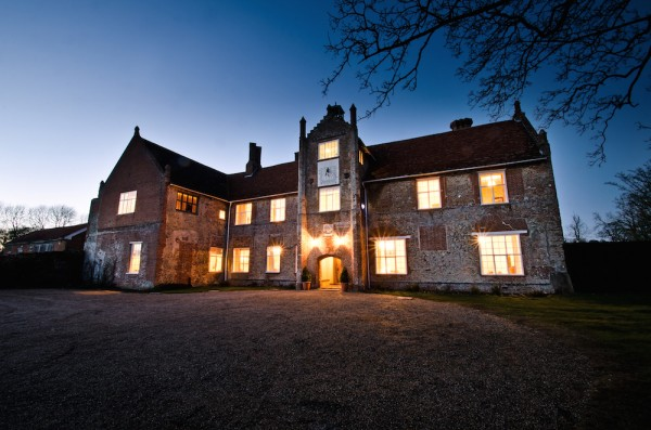 Bruisyard Hall - At Dusk