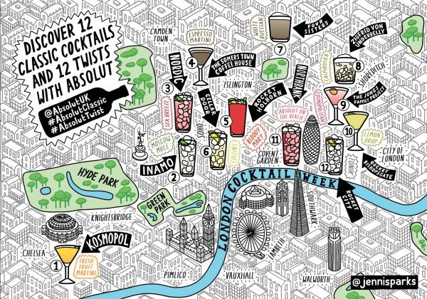 London Cocktail Week Absolute Vodka