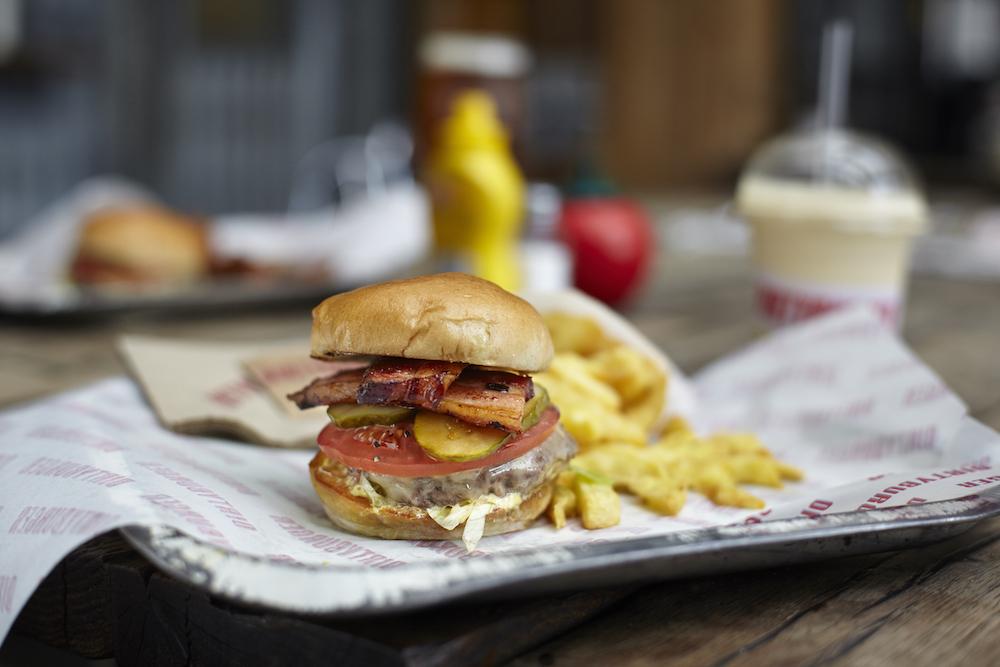 Dirty Burger Exmouth Market