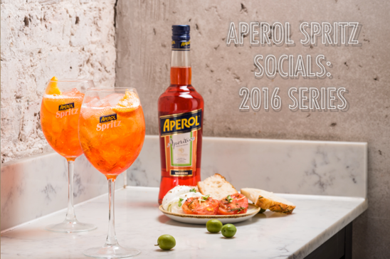 The New Year Starts with APEROL SPRITZ Socials