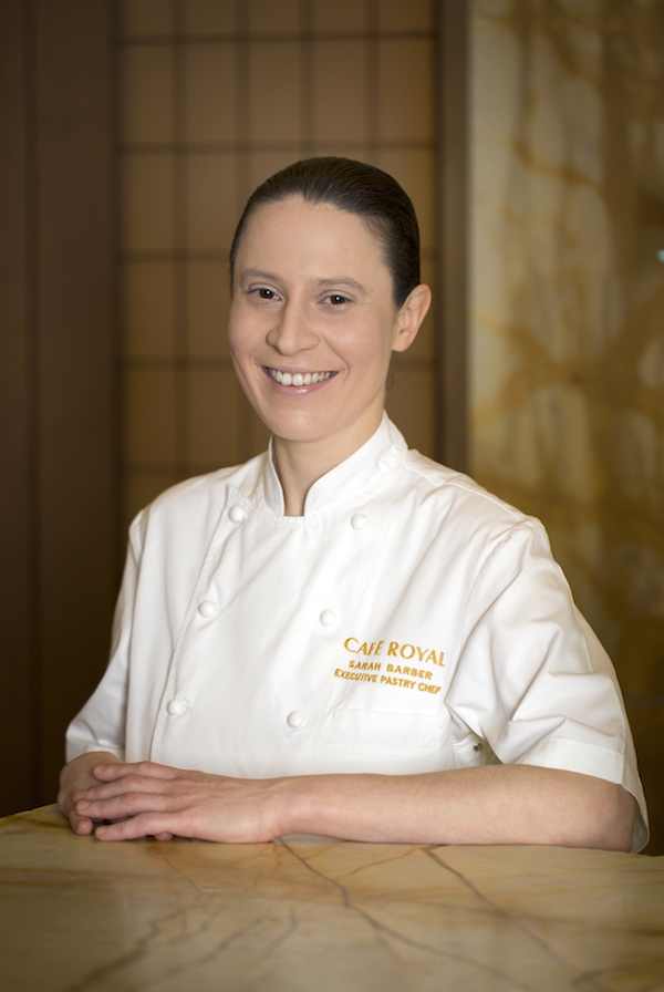 Sarah Barber, Executive Pastry Chef - Hotel Cafe Royal