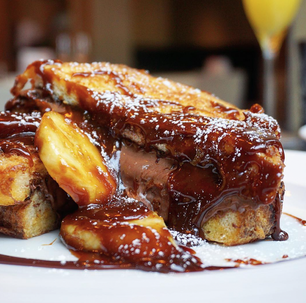 Pont St Nutella Stuffed French Toast