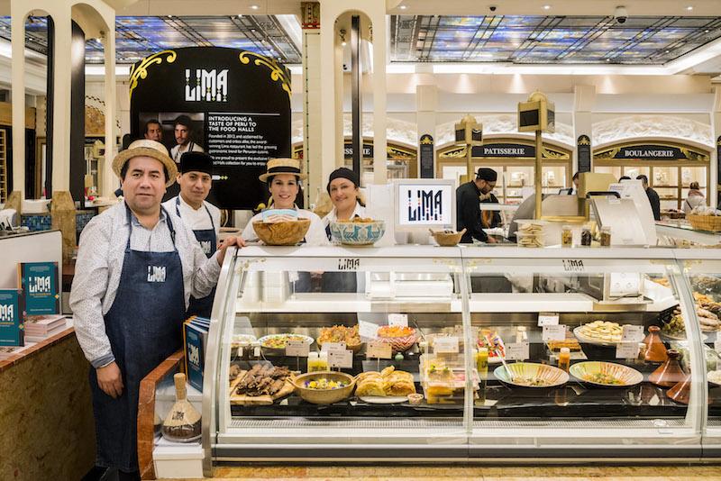 Lima Peruvian delicatessen Harrods
