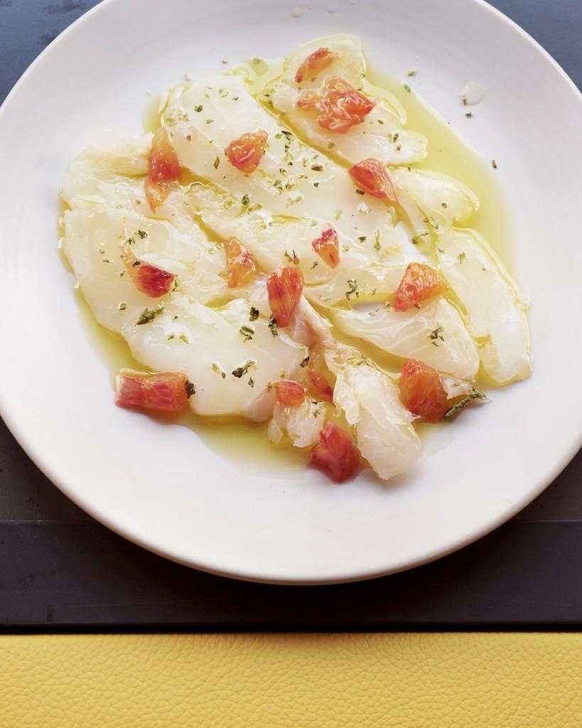 Salt cod crudo