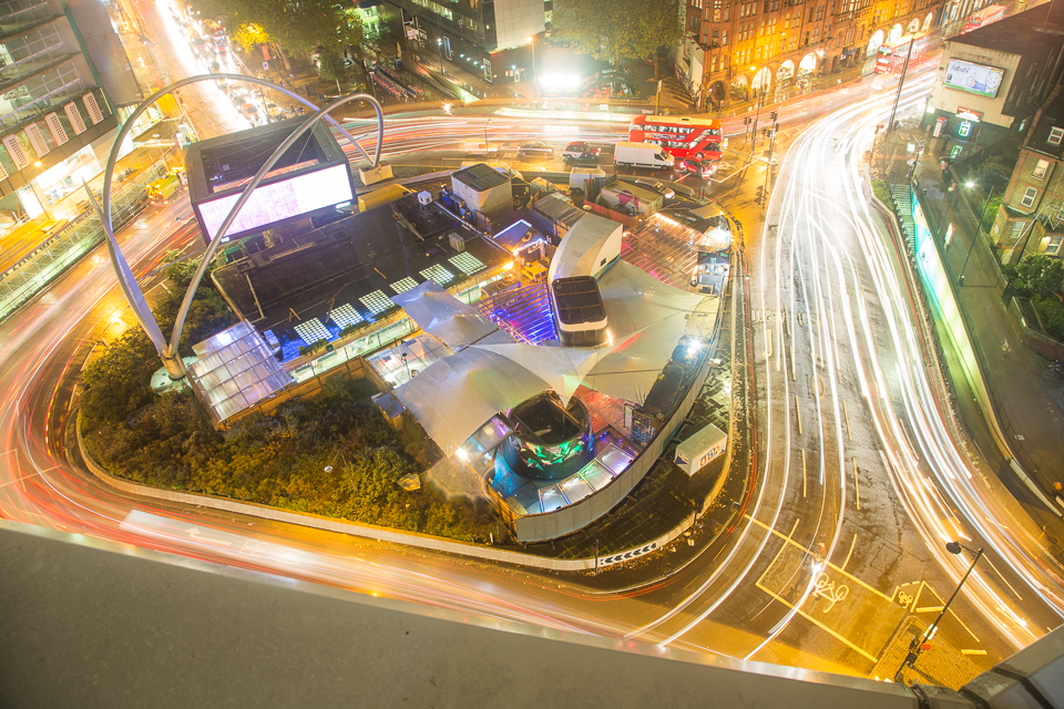 Aerial View of the Magic Roundabout