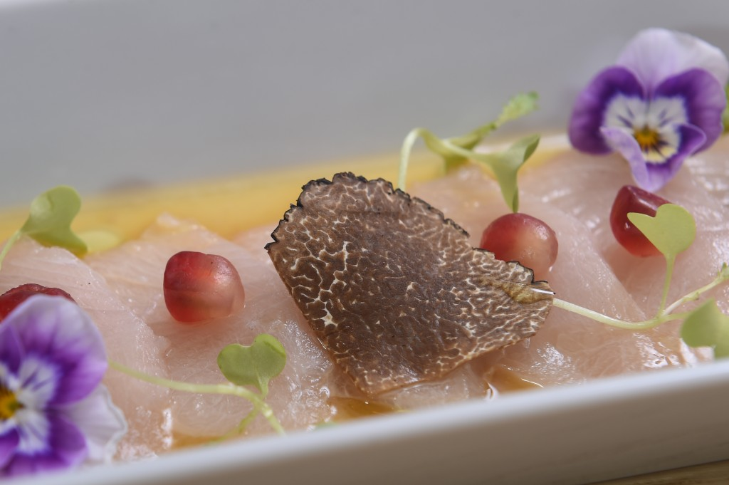 Black Kanpachi Carpaccio 4