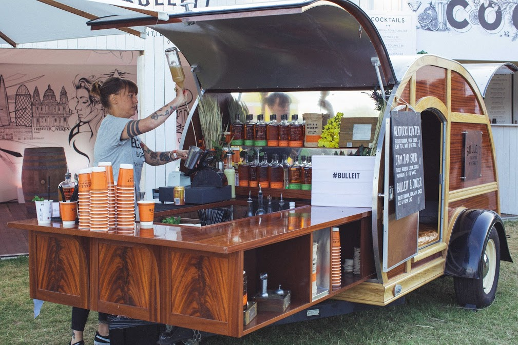 Trade Stands Glastonbury : The cocktail village spitalfields we food snobs