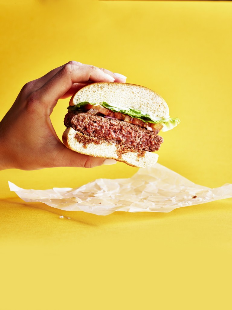 Byron Hamburger_FlexBurger with hands
