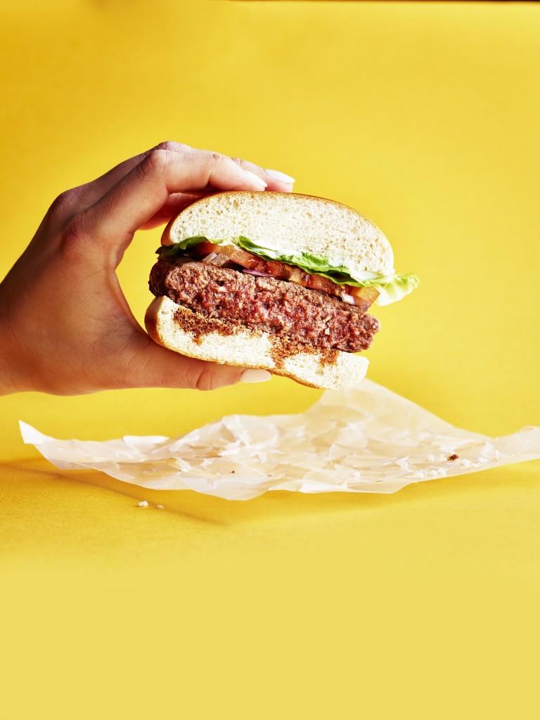 Byron Hamburger_FlexBurger with hands